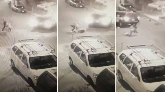 En video muestran intento de secuestro de una joven