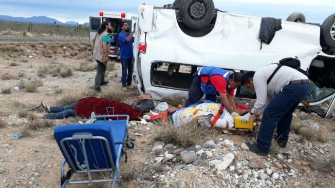 Caravana de candidata indígena se accidenta; uno muere