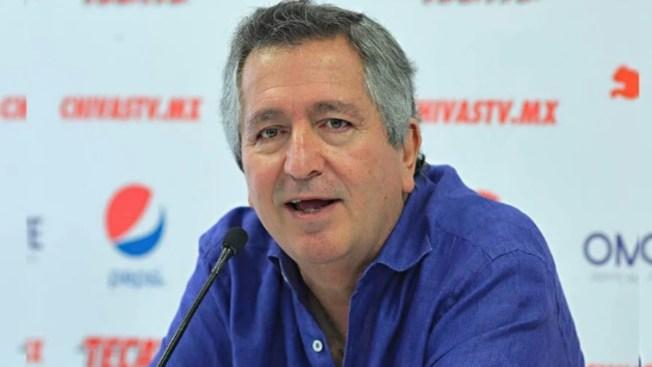 Muere Jorge Vergara, dueño de Chivas del Guadalajara