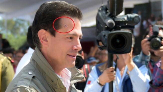 ¿Qué le pasó, presidente Peña Nieto?