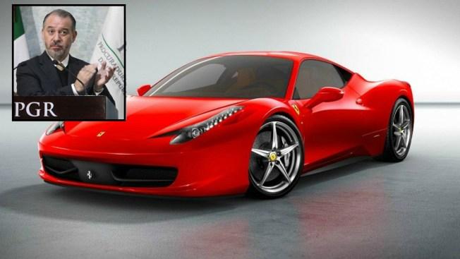 """Procurador registraría Ferrari con factura """"fantasma"""""""