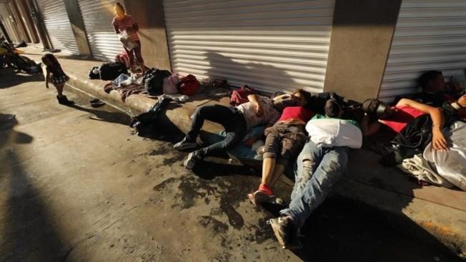 Caravana migrante entrega 1,699 solicitudes de refugio