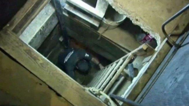 En video: descubren narcotúnel en Tijuana