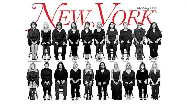 Salen a la luz 35 presuntas víctimas de Bill Cosby