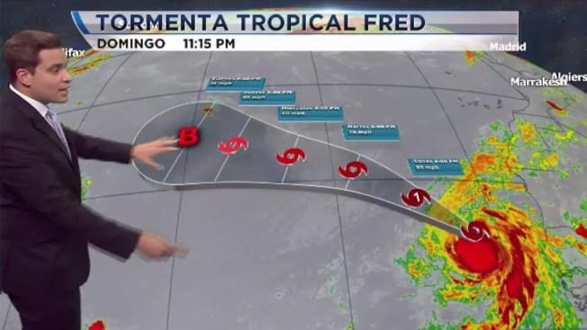 Érika se aleja y Fred se forma en el Atlántico