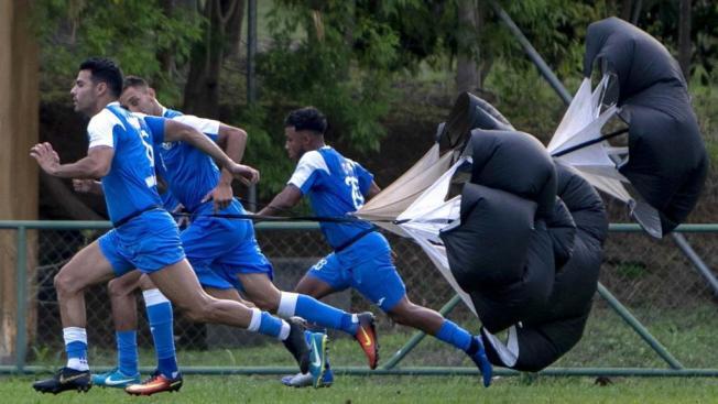 Nicaragua se prepara para su primer partido ante argentina