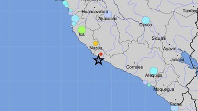 Sismo de 6.8 grados sacudió esta madrugada Arequipa