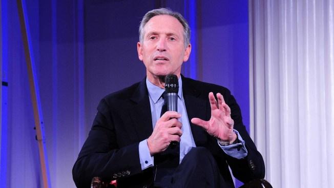 Exjefe de Starbucks abandona plan de postularse a la presidencia