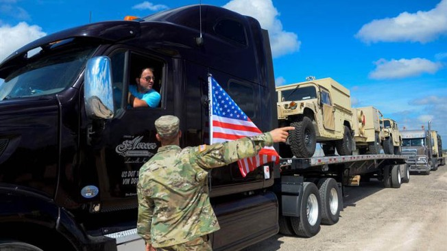 Pentágono espera completar primera fase de misión fronteriza