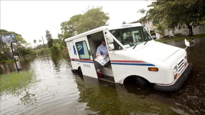 Inundaciones por intensas lluvias en nuestra área