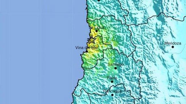 Temblor de 6.4 sacude a Chile