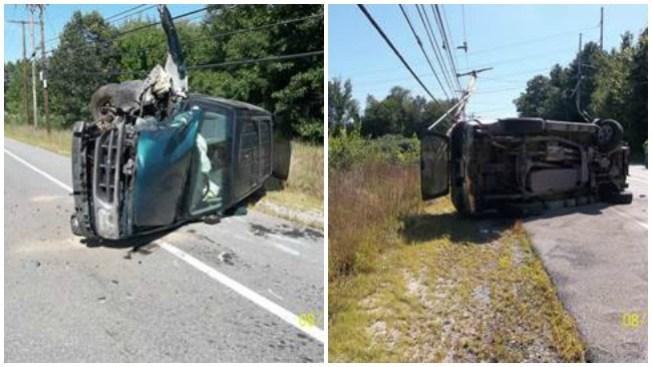 Sobrevive tras aparatoso accidente