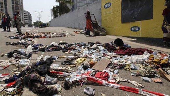 Costa de Marfil se tiñe de rojo
