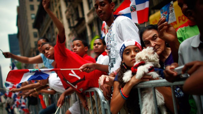 Listos para La Gran Parada Dominicana del Bronx