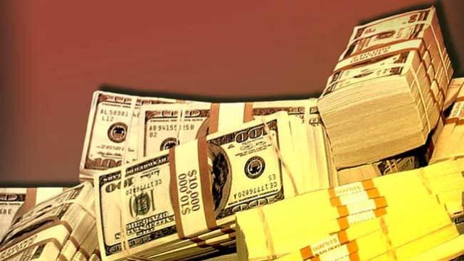Llueve dinero sobre cinco ciudades de EEUU