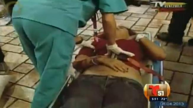 Venezuela: 5 estudiantes heridos