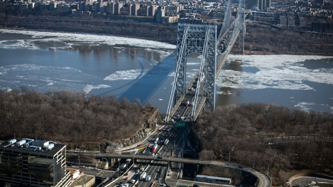 Accidente frena el George Washington Bridge
