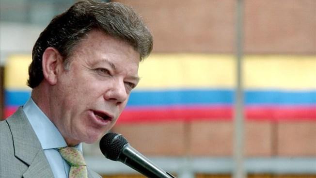 Santos prevé futuro de paz en Colombia