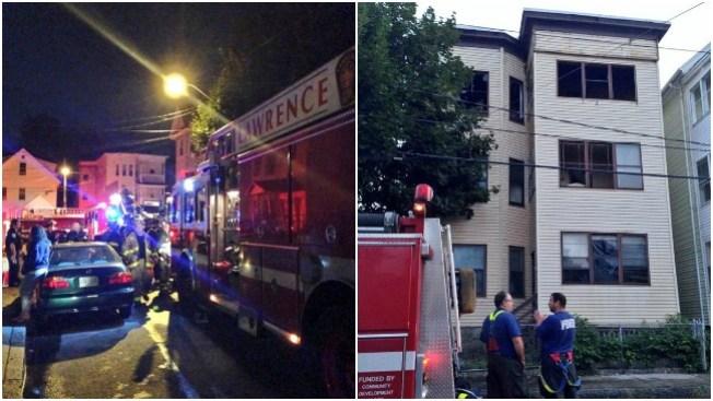 Fuego deja a 11 sin hogar en Lawrence