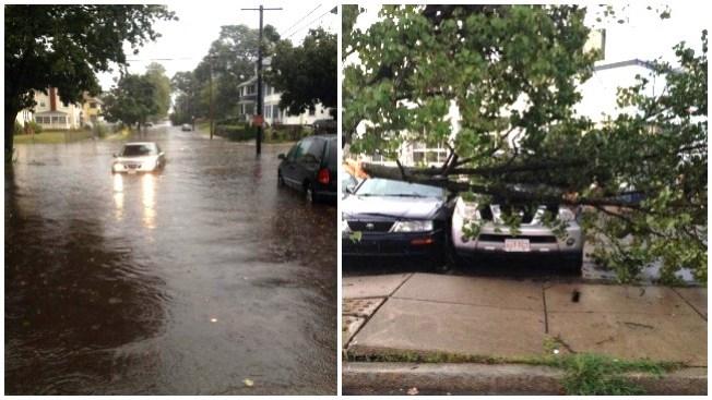 Dos víctimas por rayos tras potente tormenta