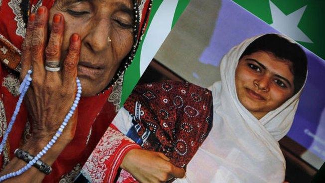 Malala de Pakistán está feliz