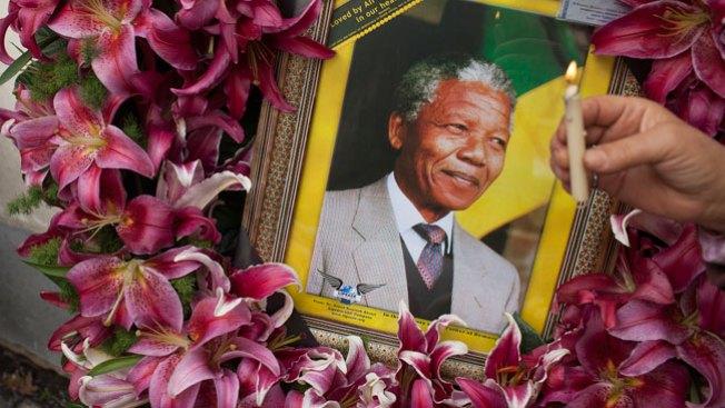 Gran veneración tras muerte de Mandela