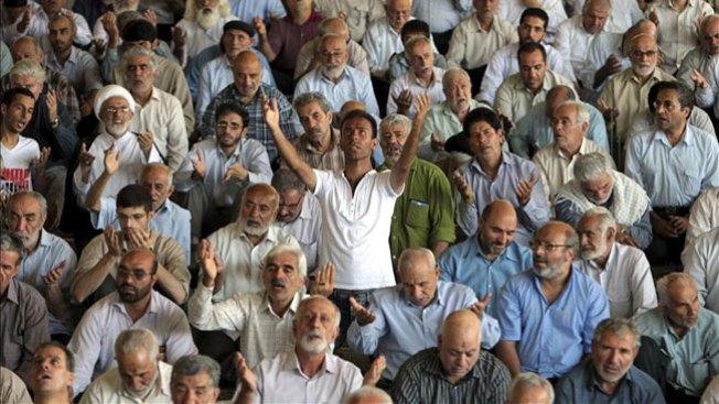 Protestas en embajada de Túnez
