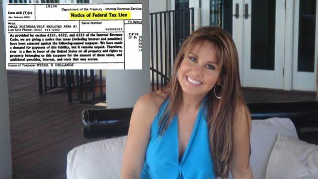 El IRS persigue a Myrka Dellanos