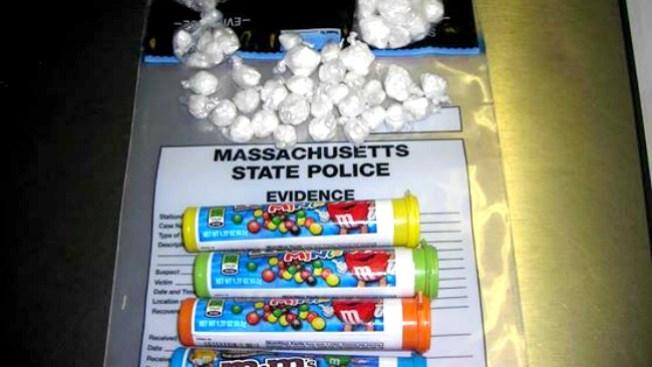 Cocaína oculta en envases de chocolate