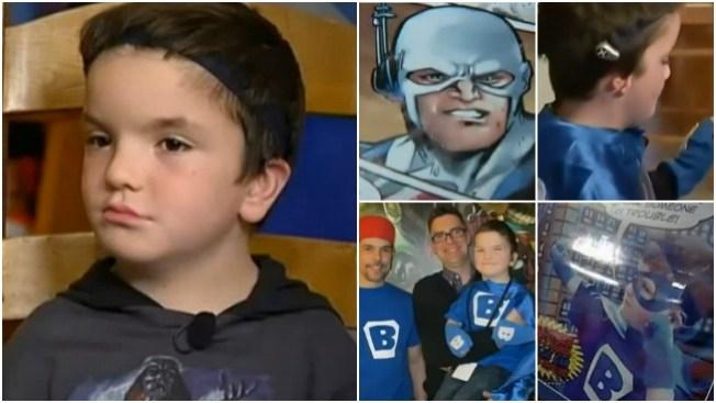 Crean superhéroe inspirado en este niño