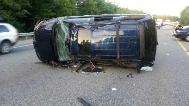 Choque en la I-290 deja heridos leves