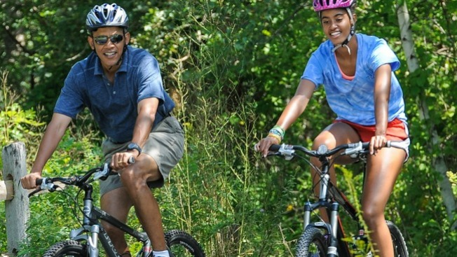 Obama de vacaciones en Martha´s Vineyard