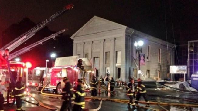 Robo de cobre desató incendio en Quincy