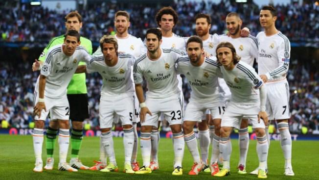 El Real Madrid, de gira en EEUU