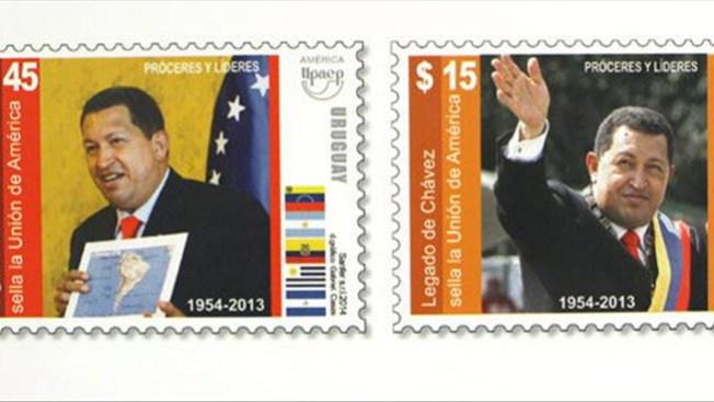Argentina emite sellos de Hugo Chávez