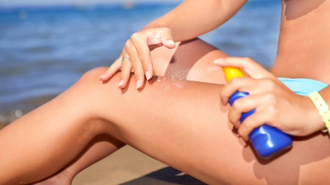Retiran crema solar inflamable
