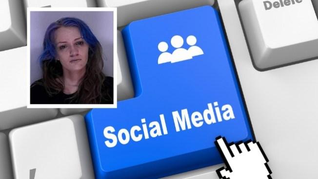 Presa por video en Facebook drogándose