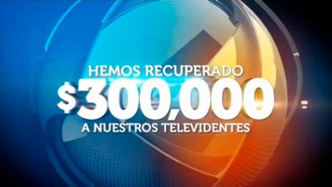 Telemundo 47 Responde recupera más de $300,000 para sus televidentes
