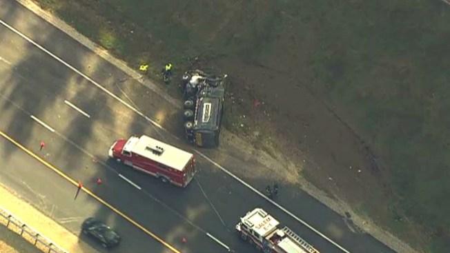 Fatal accidente de camión de basura