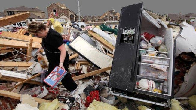 Seis, los muertos por tornados