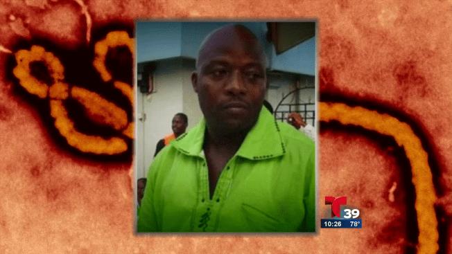 Muere hombre diagnosticado con ébola