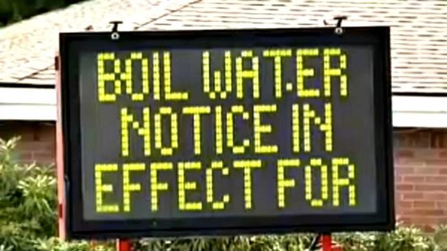 Alerta por bacteria en agua de Wellesley