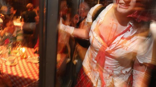 Falsa alarma por zombi ebria