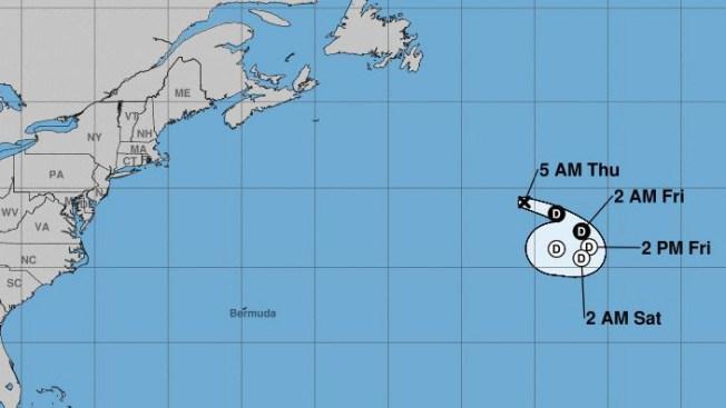 Depresión tropical Chantal sigue perdiendo fuerza y velocidad