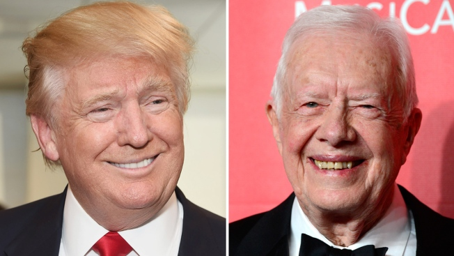 "Distinto a Obama o Bush, Trump halla un ""amigo"" en Carter"