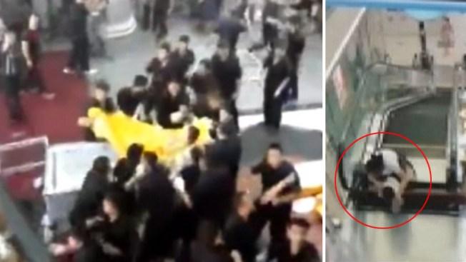 Video: Llevan cadáver a la escalera en que murió