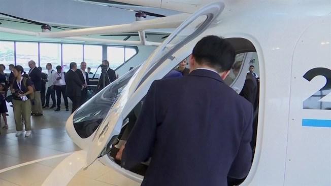 Prueba de vuelo del taxi de Volocopter