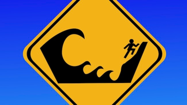Advierten de tsunami en Hawai
