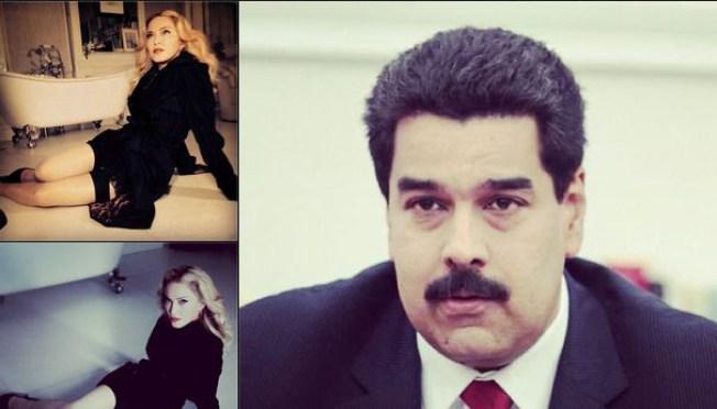Madonna califica a Maduro de fascista