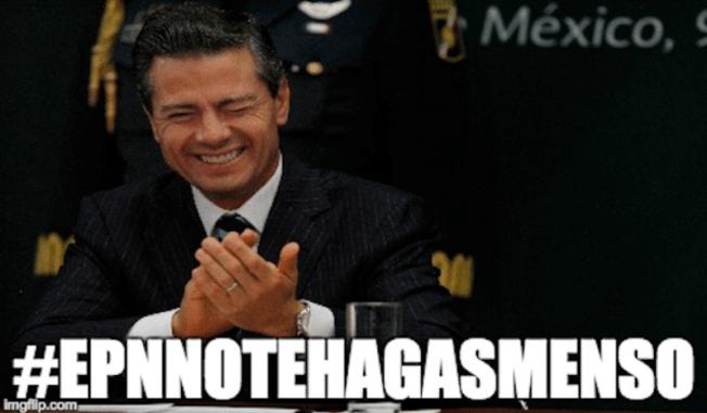 Tuiteros le exigen a Peña Nieto por Ayotzinapa